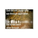 'Each Other' Rectangle Magnet (10 pack)