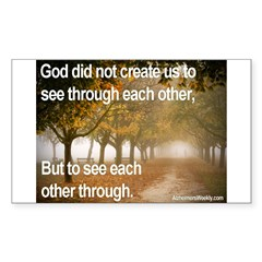 'Each Other' Sticker (Rectangle 10 pk)