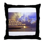 'The Sea Is So Wide' Throw Pillow