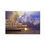 'The Sea Is So Wide' Rectangle Magnet (10 pack)
