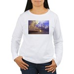 'The Sea Is So Wide' Women's Long Sleeve T-Shirt