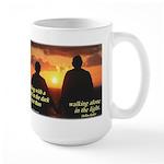 'A Friend' Large Mug