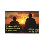 'A Friend' Rectangle Magnet (10 pack)