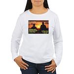 'A Friend' Women's Long Sleeve T-Shirt