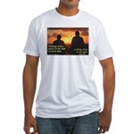 'A Friend' Fitted T-Shirt