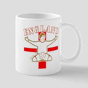 England St George Footballer Mug