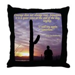 'Try Again' Throw Pillow