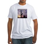 'Try Again' Fitted T-Shirt