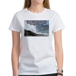 Kindness & Courage Women's T-Shirt