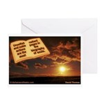 'Noble' Greeting Card