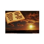 'Noble' Rectangle Magnet (10 pack)