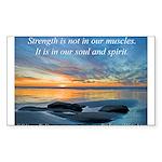 'Spirit' Sticker (Rectangle)