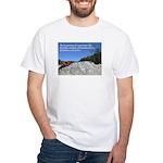'Life' White T-Shirt