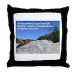 'Life' Throw Pillow