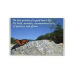 'Life' Rectangle Magnet (10 pack)