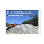 'Life' Mini Poster Print