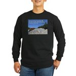 'Life' Long Sleeve Dark T-Shirt