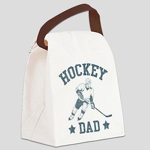Hockey Dad Canvas Lunch Bag