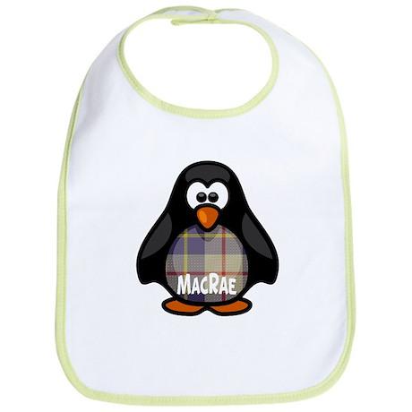 MacRae Tartan Penguin Bib