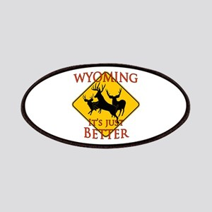 Wyoming is better Patches