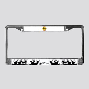 Wyoming is better License Plate Frame