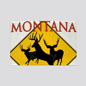 Montana is better Rectangle Magnet