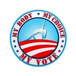 "My Body, My Choice, 3.5"" Button"