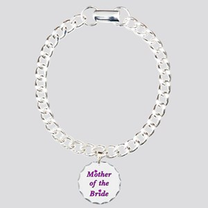 Mother of the Bride Love Charm Bracelet, One Charm