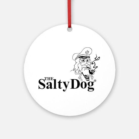 Original Salty Dog Ornament (Round)