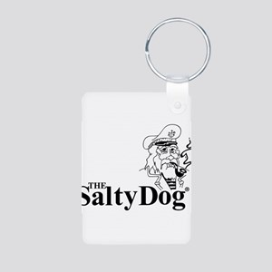 Original Salty Dog Aluminum Photo Keychain
