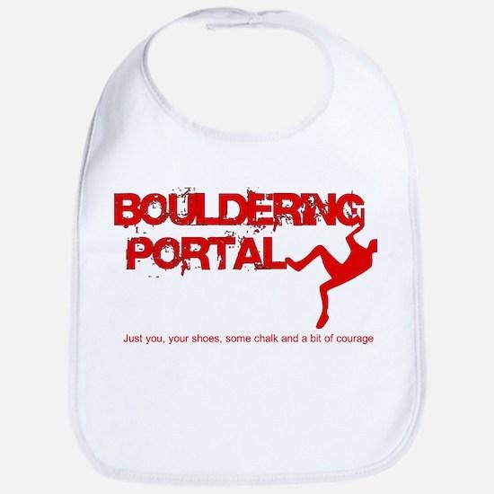 The Bouldering Portal Logo Bib
