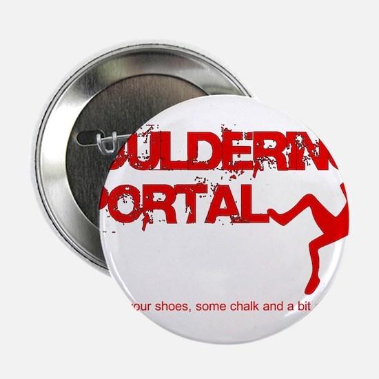 """The Bouldering Portal Logo 2.25"""" Button"""
