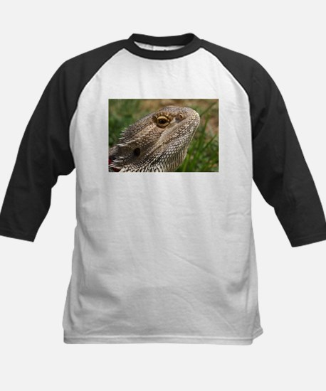 Beautiful Bearded Dragon on Grass Close up Tee