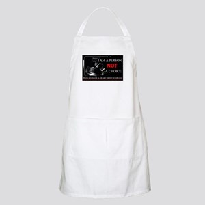 Pro-Life Have A Heart Don't Stop one Apron