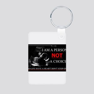 Pro-Life Have A Heart Don't Stop one Aluminum Phot