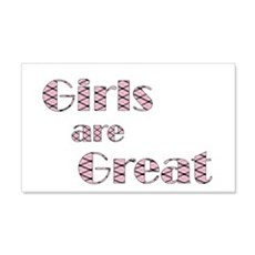 Girls are Great Wall Decal