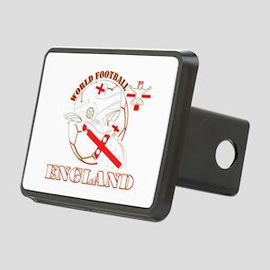 World Football England Design Rectangular Hitch Co