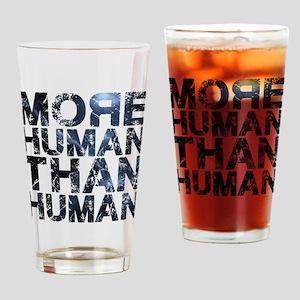 More Human Than Human Drinking Glass