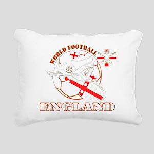 World Football England Design Rectangular Canvas P