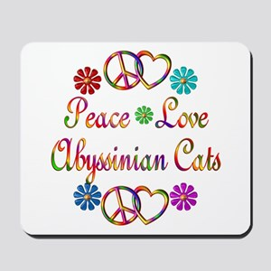 Abyssinian Cats Mousepad