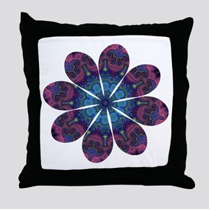 Flower Daydream Throw Pillow