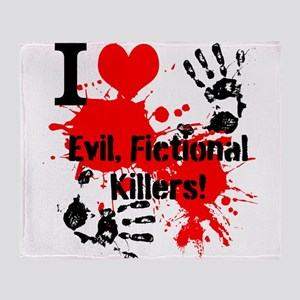 evil killers Throw Blanket