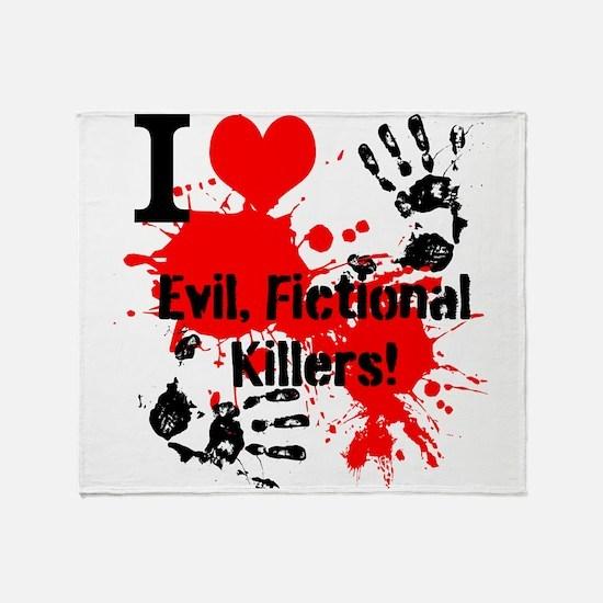 evil killers Throw Blanket