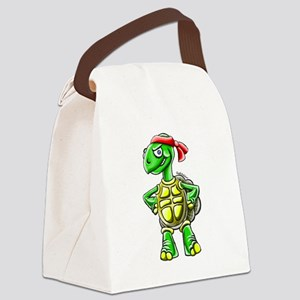 turtle2 Canvas Lunch Bag