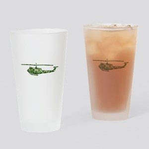 Huey Helicopter Drinking Glass