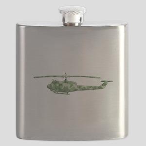 Huey Helicopter Flask