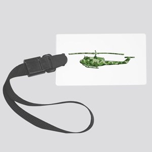 Huey Helicopter Large Luggage Tag