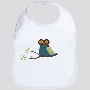 Mid Century Modern Owl Bib