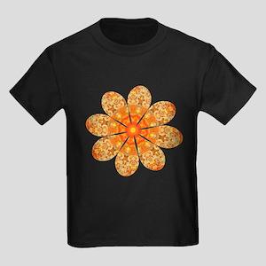 Flower Jewel Kids Dark T-Shirt