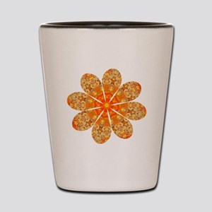Flower Jewel Shot Glass